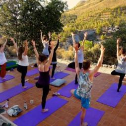 Yoga í Sierra Espuña þjóðgarðinum á Spáni